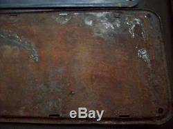1910-1911-1912-1913 California Pre State 1914 Oregon License Plates Low # 83-84