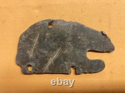 1916 California license plate tab bear 101228 lead