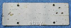 1919 California Porcelain License Plate withmatching Number Star Tab 531767