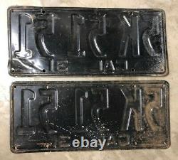 1931 California license plates 5K 51 51
