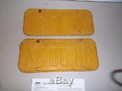 1947 California License Plates / 50 tags