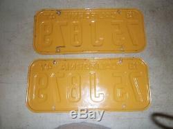 1947 California license plates