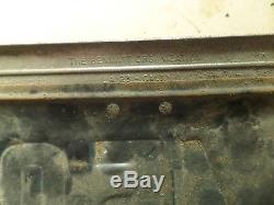 1951 California License Plate in William & Frederick San Francisco Dealer Frame