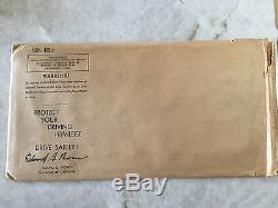 1956 CALIFORNIA LICENSE PLATE PAIR SET NOS YOM 1959 NOS Sticker