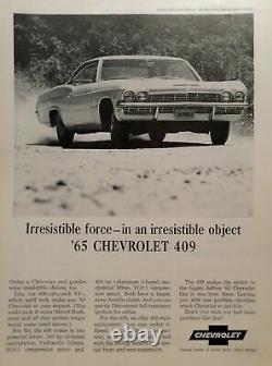 1963 California Black License Plates 1963-1969 years 1965 Chevrolet Impala 409