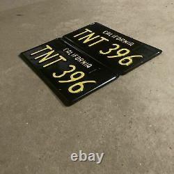 1963 California LIC Plates Great Condition 396tnt