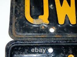1963 California License Plates