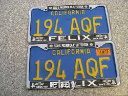1970 California License Plates, 1970 Validation, DMV Clear Guaranteed, VG