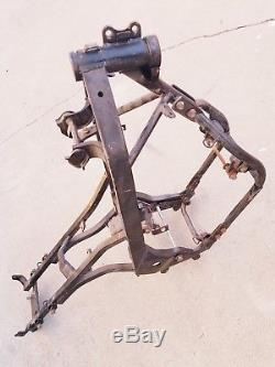 1989 YSR50 Yamaha California Frame, Clean Title, License Plate, and Registration