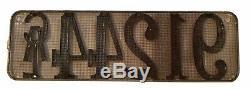 California 1913 License Plate VERY RARE