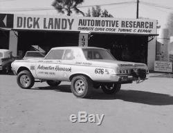 California 1963 Black License Plates Pair Dodge Mopar