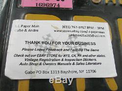 California Black Yellow License Plates PAIR RRF468 1967 68 69 Camaro Chevelle SS