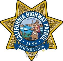 California Highway Patrol Chp 11-99 Foundation License Plate Frame