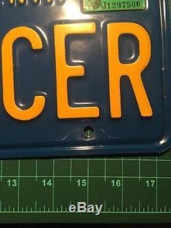 California ST RACER DMV Vanity License Plates