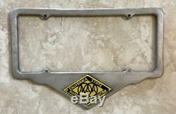 California State Automobile Association AAA License Plate Frame 1929-1955 Orig