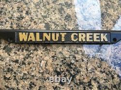 Ferrari Walnut Creek License Plate Frame Metal California 512 Tr Bb 308 328