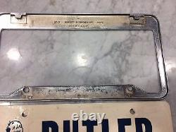 License plate frame Torrance California BUTLER BUICK1960's 70's nice and clean