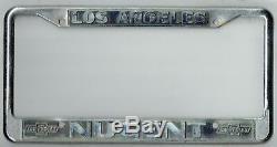 Los Angeles California AE Nugent Chevrolet Vintage Dealer License Plate Frame