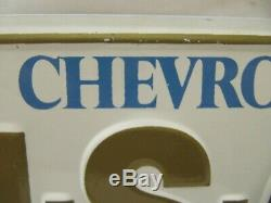 NOS 1970's CHEVROLET USA-1 Steel License Plate Camaro Chevelle Impala Nova SS