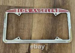 NOS Los Angeles California License Plate Frame 1956+