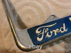 NOS Pacific Ford Long Beach Calif. License Plate Frame Mustang GT 350 Shelby FE