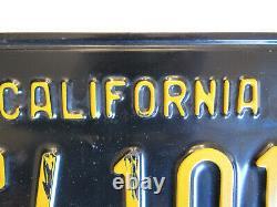 ORIGINAL Shelby Hi-Performance California Dealer License Plate