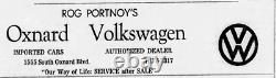 Oxnard California Imported Cars Volkswagen Vintage VW Dealer License Plate Frame