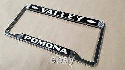 Pomona Valley Chevrolet Vintage Dealer License Plate Frame from California