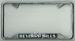 RARE Beverly Hills California HOMETOWN PRIDE Vintage Dealer License Plate Frame