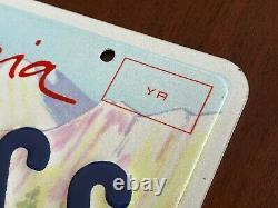 REAL California BOB ROSS Registered Vanity License Plates Joy of Painting PAIR