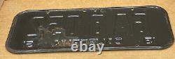 Rare Nice Pair 1951 DMV Clear 6a 8052 (california) Car License Plate- Vintage