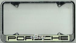 SUPER RARE Porsche 356 911 912 914 917 Vintage California License Plate Frame