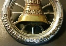 Vintage License Plate Topper Southern California Automobile Club Good Roads