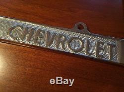 Vintage Washburn Chevrolet Dealer License Plate Frame Santa Barbara California
